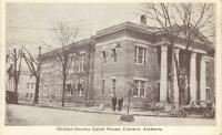 Clanton, Rebuilt 1918 after 1917 fire, Arch- Frank Lockwood, Contr- F. M. DobsonClanton, Rebuilt 1918 after 1917 fire
