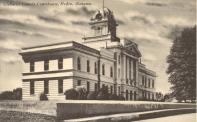 Heflin, Built 1907,  Enlarged in 1938, Arch- Horace N. Warren, Contr.- Ogletree Constr. Co.
