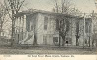 Tuskegee, Previous courthouse built 1853
