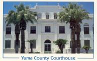 Yuma, Rebuilt courthouse 1928 after fire, Arch- Ralph Swearingen & G. A. Hanssen, Contr- Frank M. Connor & J. C. Brown