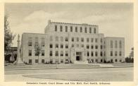 Fort Smith, Built 1937, Arch-Nelson, Bassham, Wheeler, Contr- Manhattan Constr. Co.