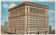 Los Angeles, Hall of Justice, Built 1925. Arch- Allied Architects, Nadel Arch. Inc. and Nakada & Assoc.
