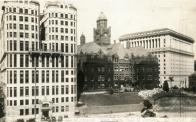 Los Angeles, Built 1891,  with Records Bldg and Hall of Justice.