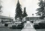 Madera, Courthouse Annex, In 1957, Remodeled 1912 Lincoln Elementary School, Arch- Charles D. James, Contr- A. C. King, Inc.