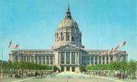 San Francisco, Built 1916, Known as Civic Center, Arch- Bakewell & Brown