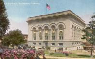 San Francisco, Hall of Justice built 1916, Arch- Newton Tharp, Razed 1968.