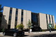 *Boulder, Hall of Justice, Built 1962, Arch- Hobart A. Wagener, Contr- Lobco Constr. Co.