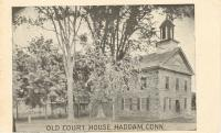 Haddam, Former courthouse Site, Built 1786