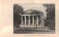 New Haven, Former state house, built  1828, also used as courthouse, razed 1889.