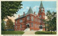 Putnam, City Building and Courthouse (Former high school), Built 1889, Arch- Carlos C. Buck