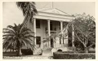 Everglades City, Former courthouse site, Built 1926, Contr- Barron Collier