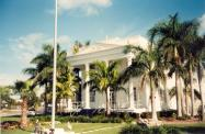 *Everglades City, Former courthouse site, Built 1926, Contr- Barron Collier