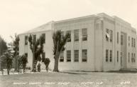 Stuart, 1925 Remodeling of 1915 school, Arch- L. Phillips Clarke, Contr- Chalker & Lund with 1937 addition