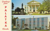 Palatka, Built 1909 with 1964 addition, Arch- Jas Gamble Rogers, Lovelock & Fritz, Contr- Jack Jennings Inc.