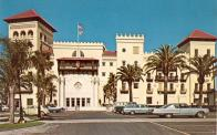 St. Augustine, Hotel built 1888, Arch- Franklin Smith, converted to courthouse 1962..