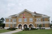 *Hazlehurst, Built 1905 with 1995 addition, Arch- Brittain, Thompson, Bray, Brown, Inc., Contr- LPS Constr. Co. Inc.
