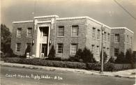 Rigby, Built 1939, Arch- Sundberg & Sundberg, Contr- Johnson J. Mickelson, Razed in 2016 after new courthouse built in 2007.