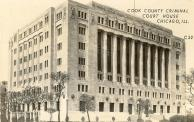 Chicago, Cook County Criminial Courthouse, Built 1929, Arch- Hall, Lawrence & Ratcliffe, Inc.