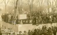 Tuscola, Laying of Cornerstone, Nov.6, 1911