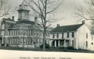 Albion, Built 1888 with additions in 1941 and 1997, Arch- Garrison & Jones Arch., Contr- Floyd Black Constr.