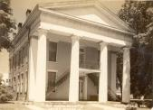 Knoxville, Former courthouse site, Built 1840, Arch- John Mandeville, Contr- Alvah Wheeler & Zelotes Cooley