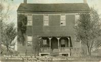 Postville, Built 1840, Arch/Contr- Sam Tinsley, Moved to Greenfield, MI in 1929.