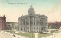 Bloomington, Built 1902, Arch- William Reev es and John M. Baillie, Contr- Peoria Stone & Marlboro Works.
