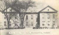 Pinkneyville, Built 1849 with additionsin 1877 and 1939, Arch- S. Thompson, Contr- Edward F. Bartels Constr. Co. (WPA)