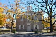 *Corydon, Built 1814, Former state capitol, then in 1825 courthouse, Arch- George L. Mesker & Co., Contr-Dennis