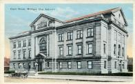 Michigan City, Superior courthouse, Built 1909, Arch- Mahuran & Mahuran, Contr- William Stillwell