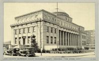 Gary, Lake Superior courthouse, Built 1927, Arch- J. T. Hutton & Son, Contr- Harry B. Olney