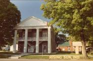 Rising Sun, Built 1844, Arch- Colonel Abel C. Pepper, Contr- Colonel Abel C. Pepper and local trades