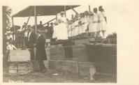 West Union, Laying cornerstone 1923 courthouse