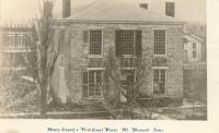 Mt. Pleasant, Built 1839, Contr- George W. Patterson, Levi Hagar and Everett Rogers.