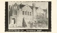 Richfield, Former courthouse site, Built 1889, Contr- J. M. Anderson, Fire-1950