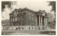 Pineville, Built 1919 after 1918 Fire of 1914 courthouse, Arch- John W. Gaddis, Contr- Moraw Bldg. Co.