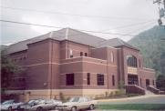*Pineville, Farmer Helton Judicial Center, Built 2003, Arch- Vaughn & Melton, Contr- W. B. Browning Contr. Co.
