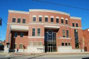 *Grayson, Judicial Center, Built 2004, Arch- Brandstetter Carroll, Inc., Contr- Codell Constr. Co.