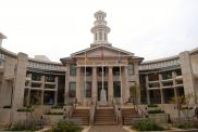 Frankfort, Courthouse surrounded by Justice Center, Built 2011, Arch- Louis & Henry Group, Contr- Codell Constr. Co.