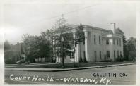 Warsaw, Built 1838, Remodeled 1938, Contr- Clarence McDaniel