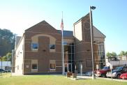 *Salyersville, courthouse, Built 2008, Arch- Michael J. Hansen of KZF Design, Contr- Codell Constr. Co.