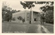 Whitley City, Built 1953, Arch/Contr- McCreary County Courthouse and Public Square Corporation