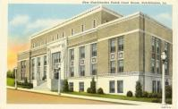 Natchitoches, Built 1940, Arch-J. W. Smith & Assoc., Contr- M. T. Reed Constr. Co. (WPA)