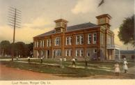 Morgan City, Satellite courthouse, Built 1905, Arch- J. M. Parmelee, Contr- M. L. Wilcox