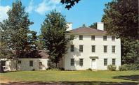 Pownalborough, Former courthouse site, Built 1760, Arch- Gershom Flagg, Contr- Kennebec Proprietors