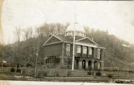 Munising, Built 1902, Arch- Demetrius Frederick Charlton, Contr- Northern Constr. Co.,  Fire-1978