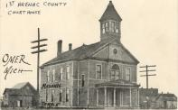 Omer, Former courthouse site, Built 1890. Arch- Pratt & Koeppe, Contr- Angus McDowell