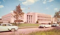 Port Huron, Built 1953, Arch- Walter Wyeth of Wyeth & Harman and Smith, Hinchman & Grylis, Contr- Collins & Catlin Co.and A. J. Etkin Constr. Co.