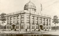 Fergus Falls, Proposed 1922 courthouse with a dome.