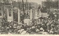 Gallatin, Laying of 1906 cornerstone